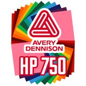 Avery HP 750 Permanent