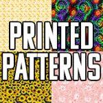 Printed Pattern HTV