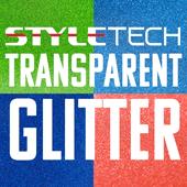 StyleTech Transparent Glitter