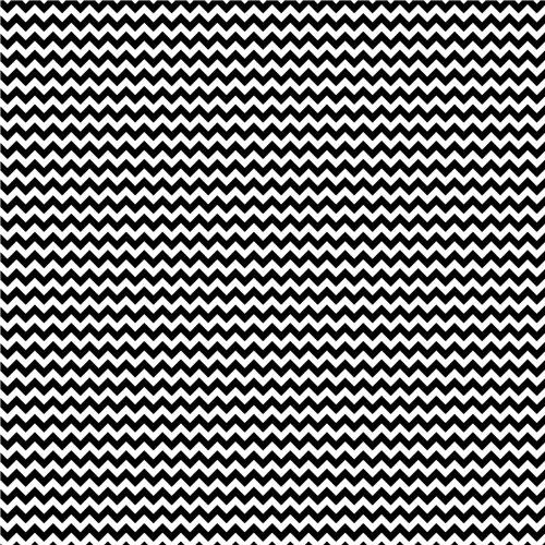 651 Vinyl Black and White Chevron Print