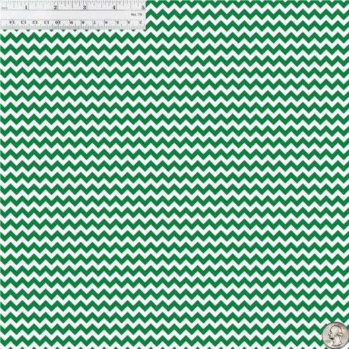 Green & White Chevron 651 Vinyl Size