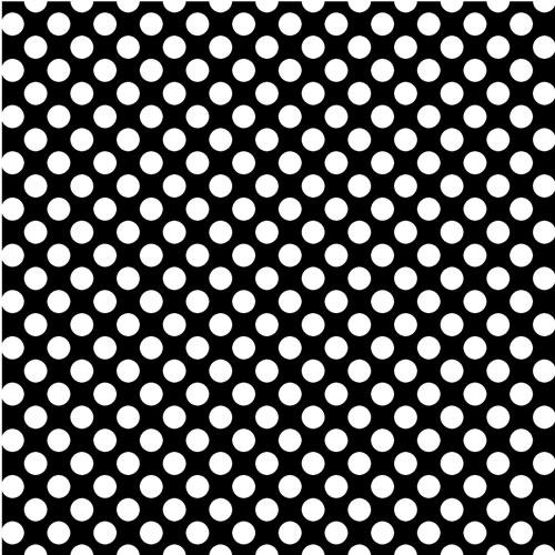 Black & White Polka Dots 651 Vinyl