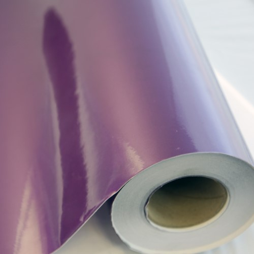 Transparent Purple Glitter Adhesive Vinyl