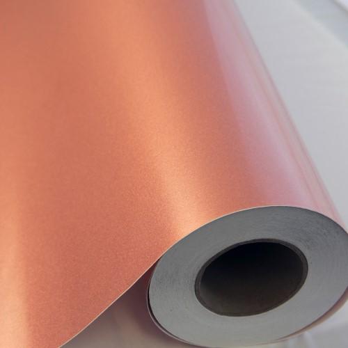 Transparent Rosey Glitter Adhesive Vinyl