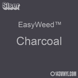 "EasyWeed HTV: 12"" x 12"" - Charcoal"