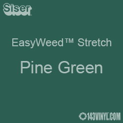 "12"" x 5 Yard Roll Siser EasyWeed Stretch HTV - Pine Green"