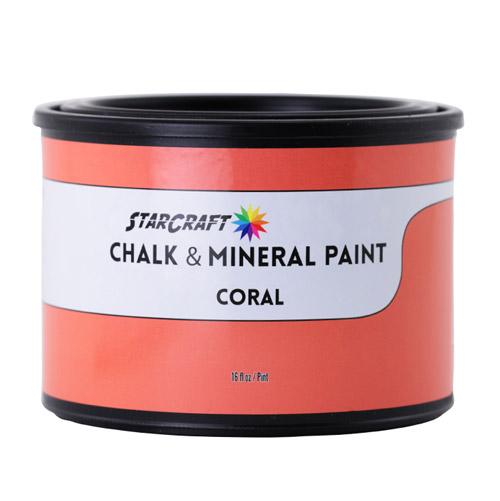 StarCraft Chalk & Mineral Paint - Pint, 16oz -Coral