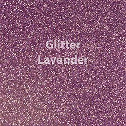 "Glitter HTV: 12"" x 5 Yard Roll - Lavender"