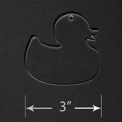 Acrylic Blank - Rubber Duck