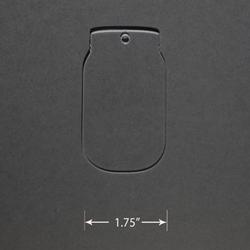 Acrylic Blank - Mason Jar
