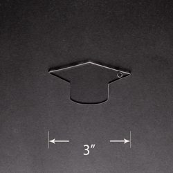 Acrylic Blank - Graduation Cap