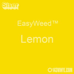 "EasyWeed HTV: 12"" x 5 Yard - Lemon"