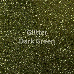 "Glitter HTV: 12"" x 20"" - Dark Green"
