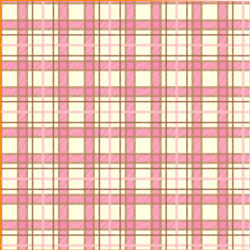 "Printed Pattern Vinyl - Pink and Brown Plaid 12"" x 12"" Sheet"
