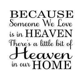 Free Download - Because Someone We Love is in Heaven
