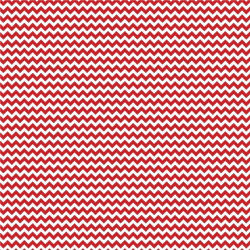 "Printed Pattern Vinyl - Red and White Chevron 12"" x 24"" Sheet"