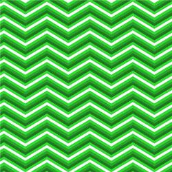 "Printed Pattern Vinyl - Greens Chevron 12"" x 24"" Sheet"