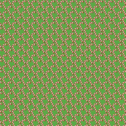 "Printed Pattern Vinyl - Christmas Candy Canes 12"" x 24"" Sheet"