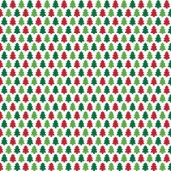 "Printed Pattern Vinyl - Christmas Trees 12"" x 24"" Sheet"