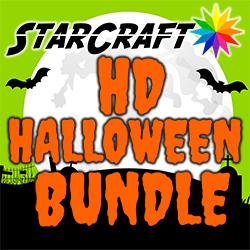 "10 Pack StarCraft HD 12"" x 12"" - Halloween Bundle"