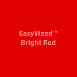 """Outlet-EasyWeed HTV: 12"""" x 12"""" - Bright Red"""