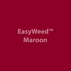 """EasyWeed HTV: 15"""" x 5 Yard - Maroon"""