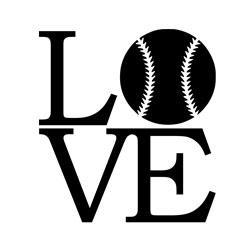 Free Download - Love Baseball