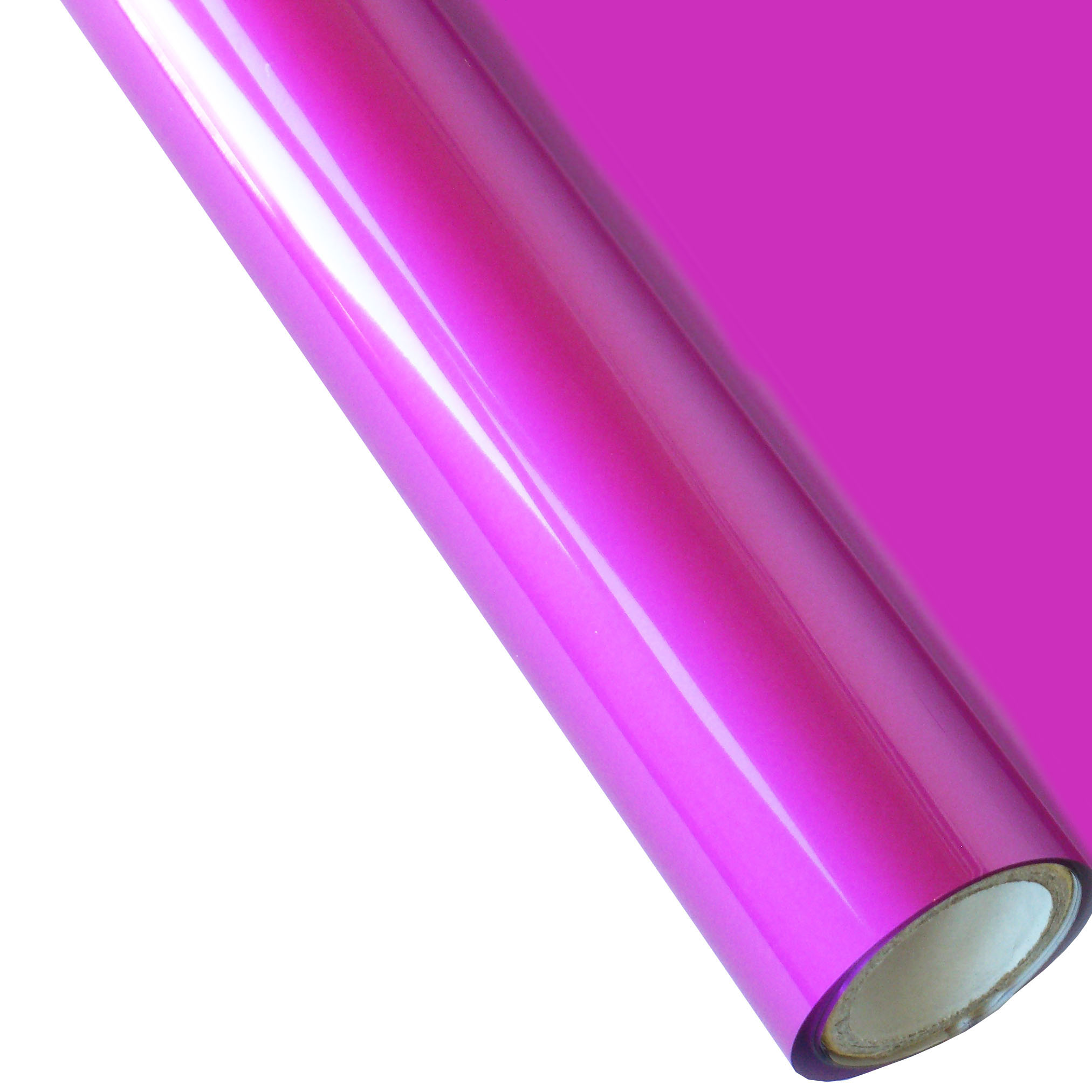 "25 Foot Roll of 12"" StarCraft Electra Foil - Matte Fuchsia"