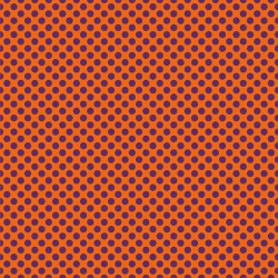 "Printed HTV Orange and Purple Polka Dots Print 12"" x 15"" Sheet"