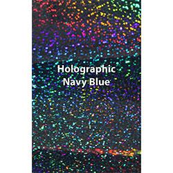"""12"""" x 20"""" Sheet Siser Holographic HTV - Navy Blue"""