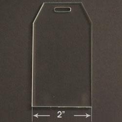 Acrylic Blank - Gift Tag