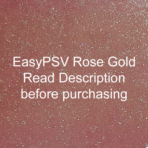 """Siser EasyPSV Glitter - Rose Gold (44) - 12"""" x 24"""" Sheet"""
