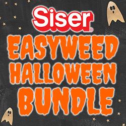 """7 Pack Siser Easyweed HTV 12"""" x 12"""" - Halloween Bundle"""
