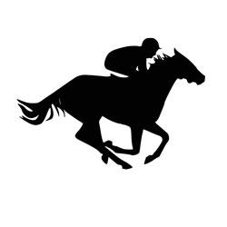 Free Download - Horse and Jockey