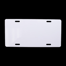 """Sublimation License Plate - 5.88"""" x 11.88"""""""