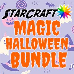 "4 Pack StarCraft Magic 12"" x 12"" - Halloween Bundle"
