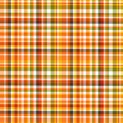 "Printed HTV Pumpkin Plaid 12"" x 15"" Sheet"