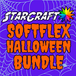 "7 Pack StarCraft SoftFlex HTV 12"" x 12"" - Halloween Bundle"