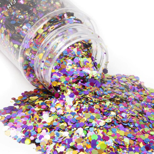 StarCraft Glitter - Chunky - Rainbow Fin