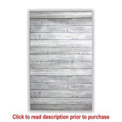 Garden Flag - Weathered Wood Printed Design
