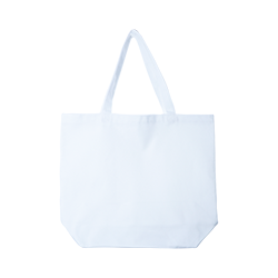 Sublimation Polyester Tote Bag - White