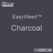 """EasyWeed HTV: 12"""" x 12"""" - Charcoal"""
