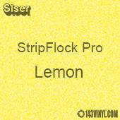 """12"""" x 15"""" Sheet Siser Stripflock Pro HTV - Lemon"""