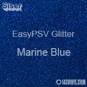 """Siser EasyPSV Glitter - Marine Blue (03) - 12"""" x 24"""" Sheet"""