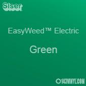"12"" x 15"" Sheet Siser EasyWeed Electric HTV - Green"