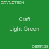"""Styletech Craft Vinyl - Light Green- 12"""" x 24"""" Sheet"""