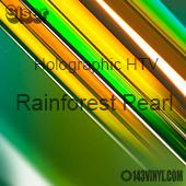 """12"""" x 20"""" Sheet Siser Holographic HTV - Rainforest Pearl"""