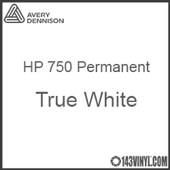 """Avery HP 750 - True White- 12"""" x 5 Foot"""