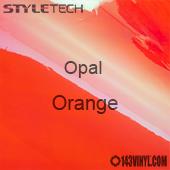 """StyleTech Opal - Orange - 12"""" x 24"""" Sheet"""