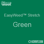"12"" x 24"" Sheet Siser EasyWeed Stretch HTV - Green"